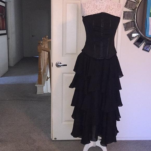Slave Dresses Black Corsage With Skirt Poshmark